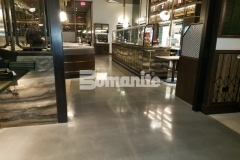 After making necessary corrections to repair the base slab, our colleague Beyond Concrete installed Bomanite Modena SL decorative concrete and their expertise in the field ensured that the high-end Angeline by Michael Symon restaurant was engineered for rave reviews.