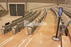 Our colleague, Texas Bomanite, used Bomanite Patene Teres and Bomanite Patene Artectura to create custom polished and dyed concrete flooring in the lobbies, stairs, hallways, auditorium, and sanctuaries at Hope Fellowship Church and the finished product adds a warm, welcoming feel throughout the space.