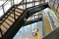 The proficient installation of Bomanite VitraFlor custom polished concrete throughout The Richards Group building earned our colleague Texas Bomanite the 2015 Gold Award for Best Bomanite Custom Polishing Project and provided stunning results while remaining on time and under budget.