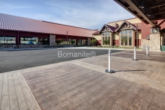 Bomanite Imprint Systems with Bomacron-Textured and Pattern Imprinted Concrete as beautiful decorative concrete at the Great Wolf Lodge in Garden Grove, CA.